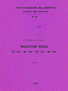 Ricevitori radio BC 312-314-343-344 1971